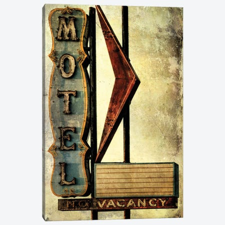 Vintage L.A. XVI Canvas Print #HNY11} by Honey Malek Canvas Print