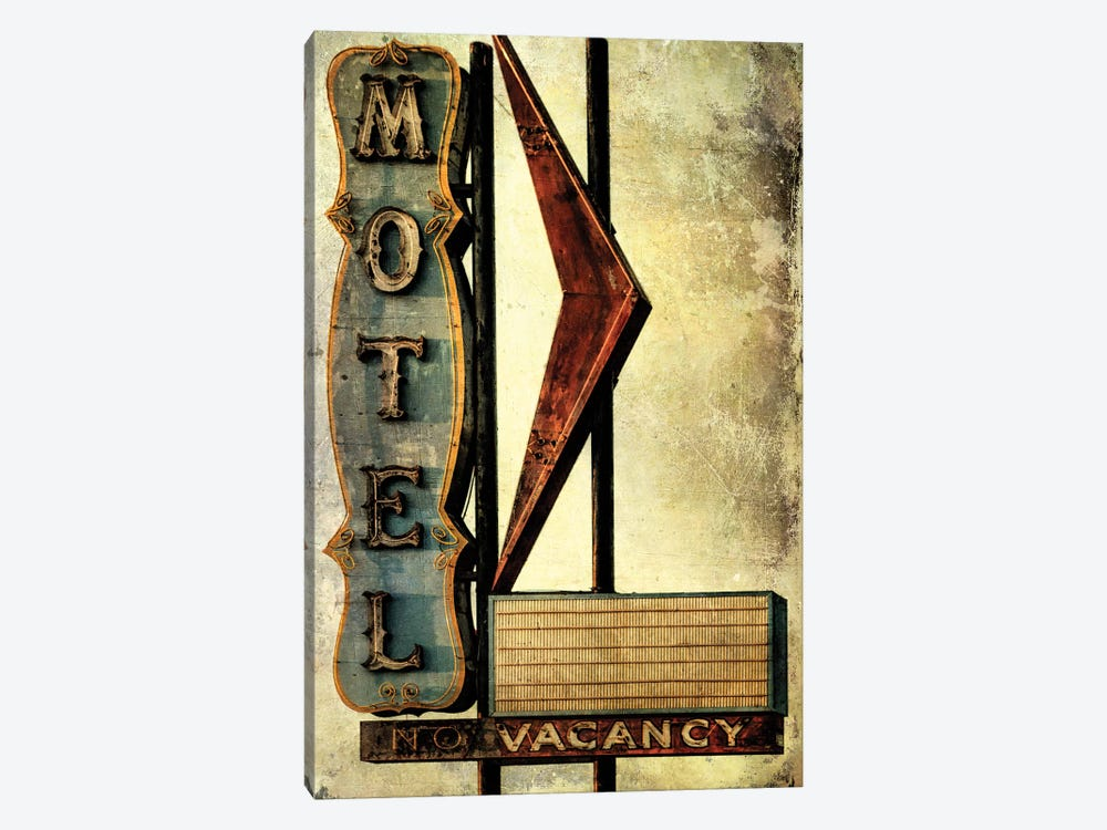 Vintage L.A. XVI by Honey Malek 1-piece Canvas Art