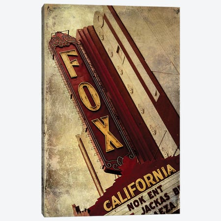 Vintage L.A. XVII Canvas Print #HNY12} by Honey Malek Canvas Art Print