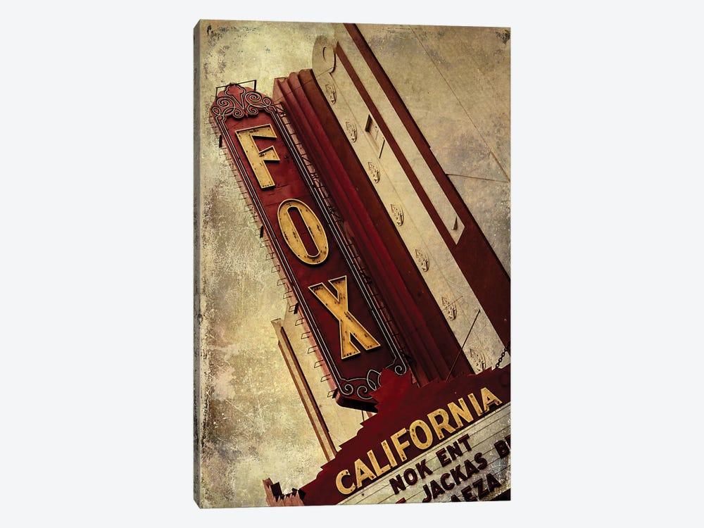 Vintage L.A. XVII by Honey Malek 1-piece Canvas Print