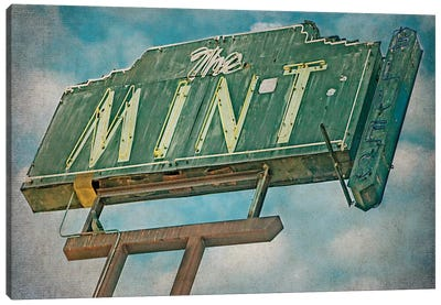 Vintage L.A. VIII Canvas Art Print