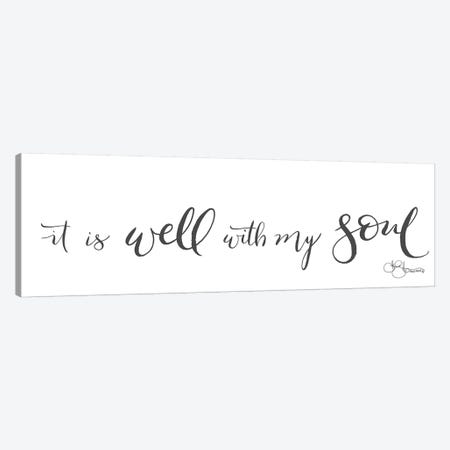It is Well with My Soul Canvas Print #HOA10} by Hollihocks Art Canvas Artwork