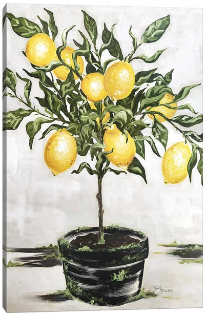 Lemon Tree Canvas Art Print