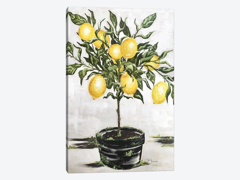 Lemon Tree by Hollihocks Art 1-piece Canvas Artwork