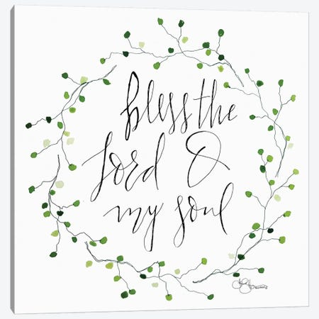 Bless the Lord 3-Piece Canvas #HOA1} by Hollihocks Art Canvas Wall Art
