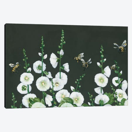 Bees Canvas Print #HOA24} by Hollihocks Art Canvas Art