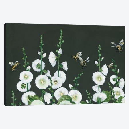 Bees Canvas Print #HOA24} by Hollihocks Art Canvas Art