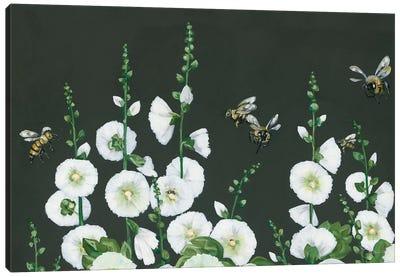 Bees Canvas Art Print
