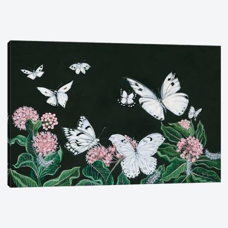 Butterflies Canvas Print #HOA26} by Hollihocks Art Canvas Artwork