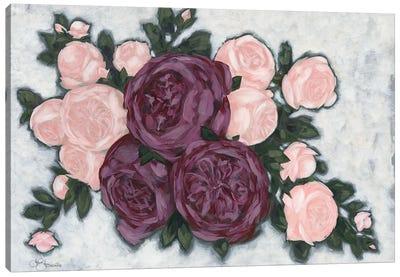 English Roses Canvas Art Print