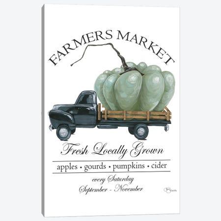 Farmers Market Truck Canvas Print #HOA31} by Hollihocks Art Canvas Art