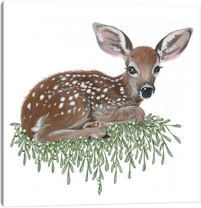 Fawn Canvas Art Print