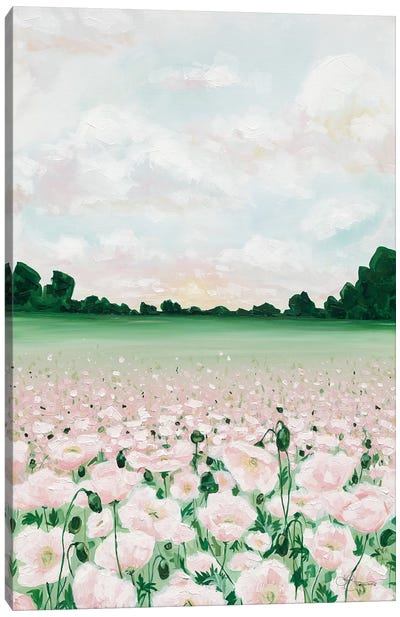 Pink Poppies Canvas Art Print