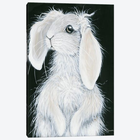 Bunny Canvas Print #HOA46} by Hollihocks Art Canvas Wall Art