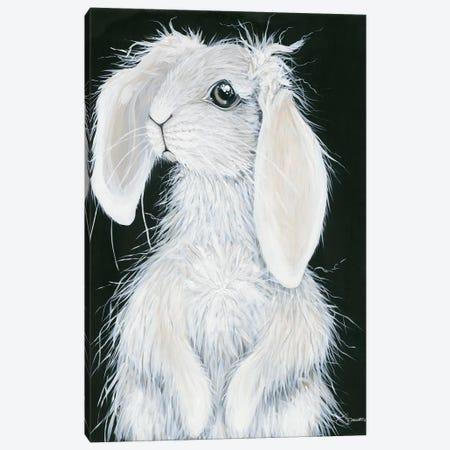 Bunny Canvas Print #HOA46} by Hollihocks Art Canvas Wall Art