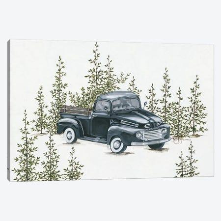 Christmas Tree Shopping Canvas Print #HOA47} by Hollihocks Art Canvas Art