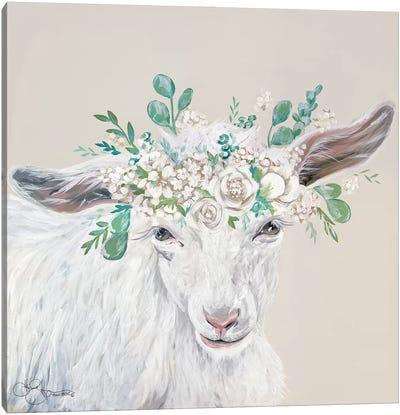 Faith the Goat Canvas Art Print