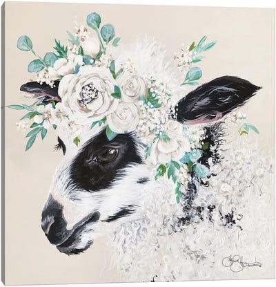 Grace the Lamb Canvas Art Print
