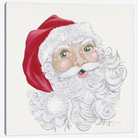 Green Eyed Elf Canvas Print #HOA50} by Hollihocks Art Canvas Art