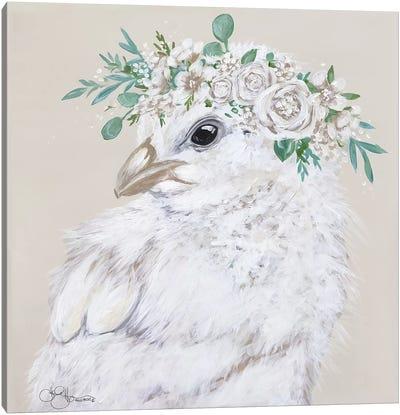 Joy the Chick Canvas Art Print