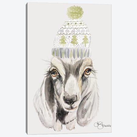 Cozy Goat   Canvas Print #HOA61} by Hollihocks Art Canvas Art Print