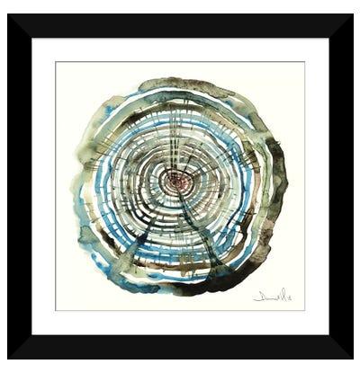 Water Oak Framed Art Print