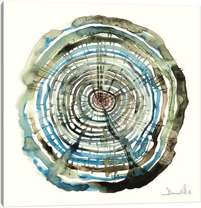 Water Oak Canvas Art Print