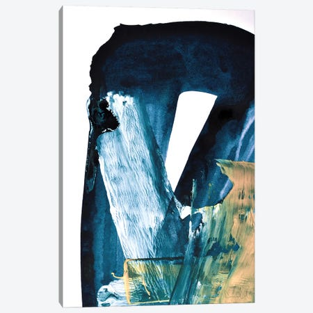 Blue Blend Canvas Print #HOB105} by Dan Hobday Canvas Art