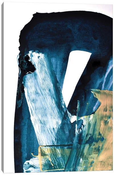Blue Blend Canvas Art Print