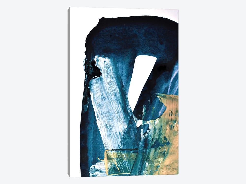 Blue Blend by Dan Hobday 1-piece Canvas Art Print