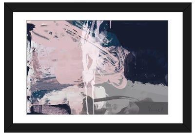 Blush Dawn Framed Art Print