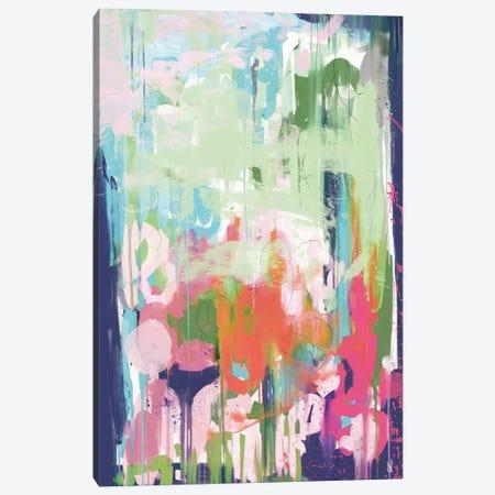 Floral Abstract Canvas Print #HOB112} by Dan Hobday Canvas Artwork