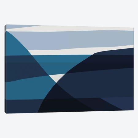Oceans Canvas Print #HOB116} by Dan Hobday Art Print