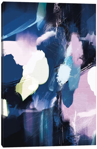 Soft Abstract Canvas Art Print