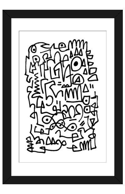 Sqwig Framed Art Print