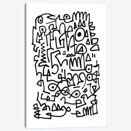 Sqwig Canvas Print #HOB118} by Dan Hobday Canvas Art