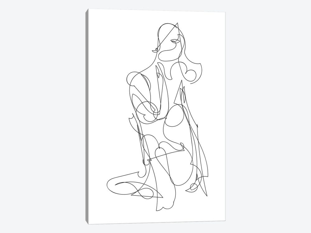Woman by Dan Hobday 1-piece Art Print