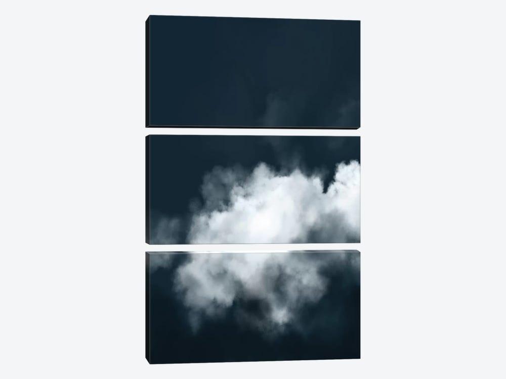 Cloudy by Dan Hobday 3-piece Canvas Art Print