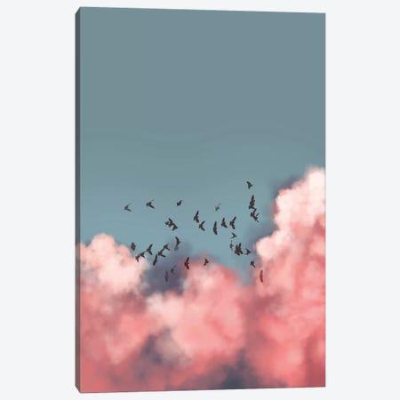 Doves Canvas Print #HOB127} by Dan Hobday Canvas Artwork