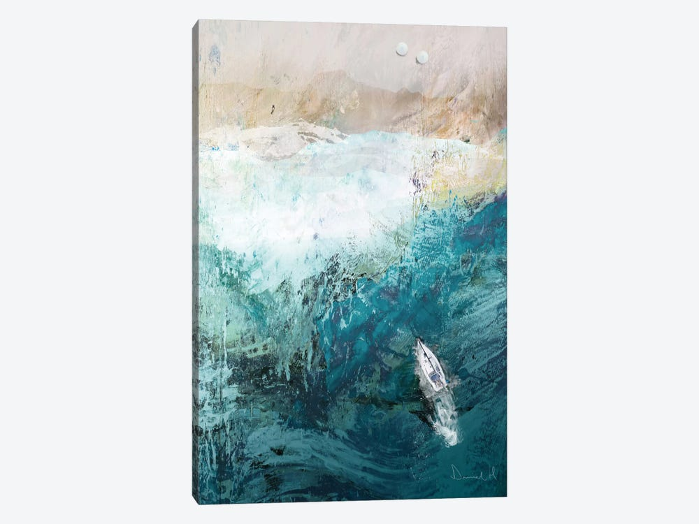Azure Walk 1-piece Canvas Art Print