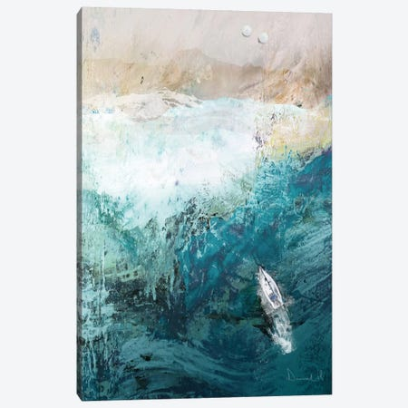 Azure Walk Canvas Print #HOB12} by Dan Hobday Art Print