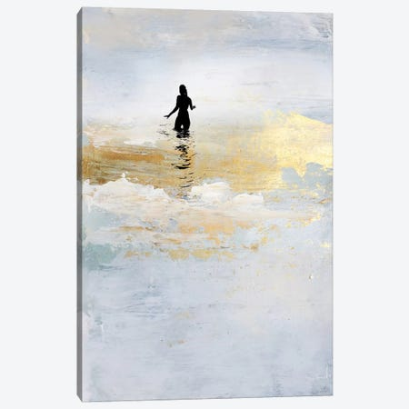 Sun Dip Canvas Print #HOB139} by Dan Hobday Canvas Wall Art