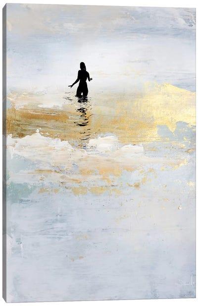 Sun Dip Canvas Art Print