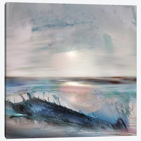 Beach Canvas Print #HOB13} by Dan Hobday Canvas Art Print