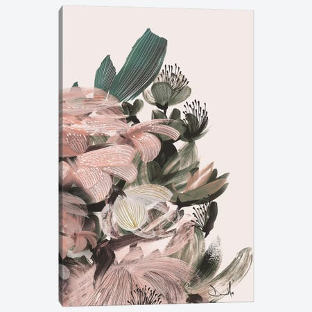 Blush Bloom Canvas Print #HOB140} by Dan Hobday Canvas Print