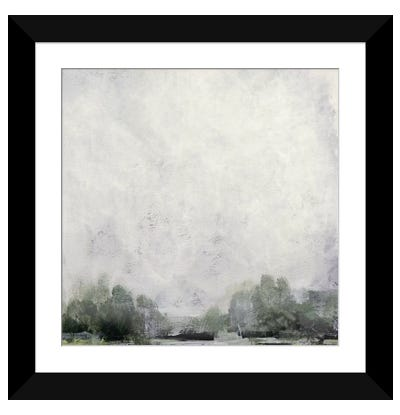 Forest Edge Framed Art Print