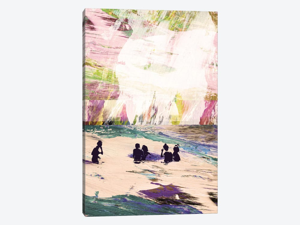 Beach Day by Dan Hobday 1-piece Art Print
