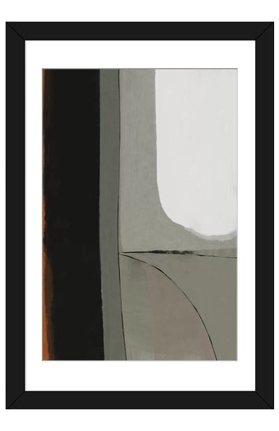 Works Framed Art Print