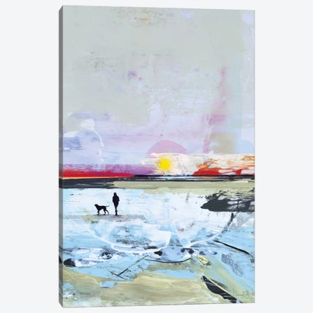 Beach Walk Canvas Print #HOB16} by Dan Hobday Canvas Art