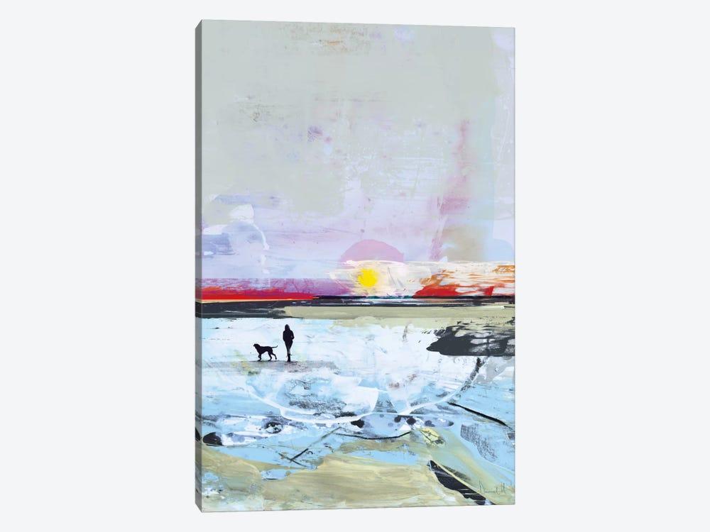 Beach Walk by Dan Hobday 1-piece Canvas Print
